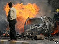 Bomb blast in Iraq