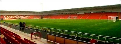 Doncaster's new Keepmoat Stadium