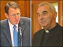 The Right Reverend Alan McDonald and Cardinal Keith O'Brien