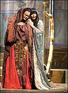 Singers in Aida