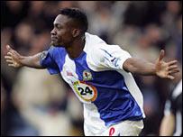 Blackburn player Shabani Nonda
