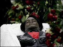 james brown open casket - photo #15