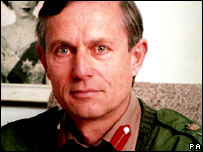 General Sir Michael Rose, pictured in 1994