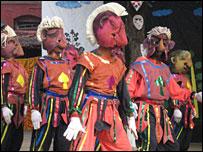 Prison theatre performance in Berhampore, Bengal