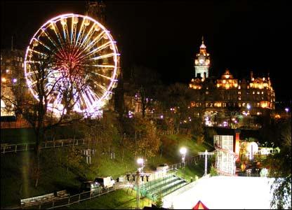 Edinburgh Christmas fair