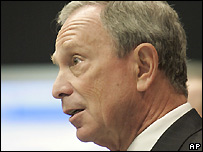 New York City Mayor Michael Bloomberg - 19/06/2007