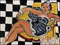 Henri Matisse's Danseuse Dans Le Fauteuil, Sol En Damier