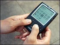 A handheld computer
