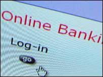 Online bank login, BBC