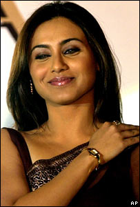 Bollywood actress Rani Mukherjee