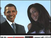 Still from I Got A Crush... On Obama from Youtube