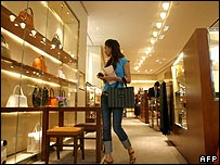 Chinese shopper