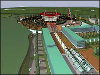 New Forest stadium model