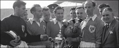 Blackpool triumph in 1953 FA Cup