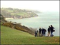 Strete to Stoke Fleming coastal path