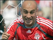 Danny Dichio in action for Toronto