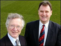 Frank Duckworth and Tony Lewis