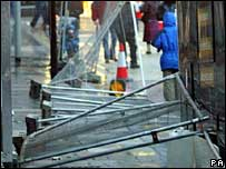Barriers in Edinburgh