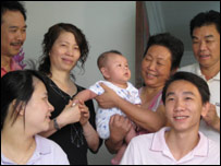 Jie Jie Cai and family