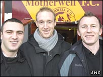 Danny Murphy, Paul Keegan and Trevor Molloy