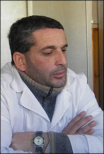 El director de la escuela, Marcelo Galain