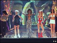 Spice Girls in 1997