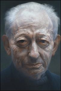 Michael Simpson (detail), by Paul Emsley