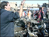 Bombing in Baghdad 31-12-06