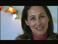 French Socialist presidential candidate Segolene Royal delivers a New Year message