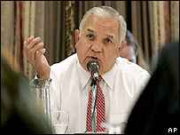 US Representative Silvestre Reyes