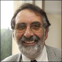 Prof Roland Levinsky. Picture: University of Plymouth