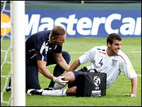 England defender Steven Taylor