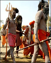 Hindu holy men