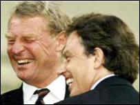 Lord Ashdown and Tony Blair