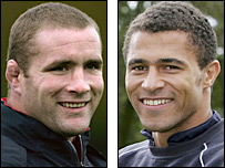 Phil Vickery and Jason Robinson
