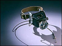 Ankle camera (image: National Museum of American History)