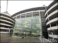 Manchester City's football stadium