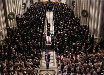 Funeral in Washington cathedral