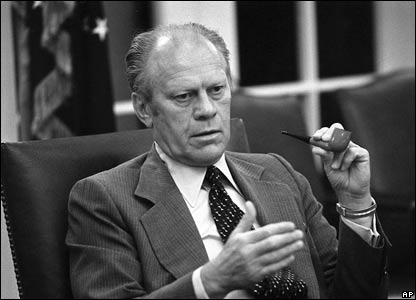 Gerald Ford in 1975