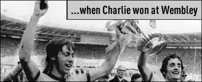 ... when Charlie George won at Wembley?