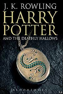 "Cubierta del libro ""Harry Potter and the Deathly Hallows """