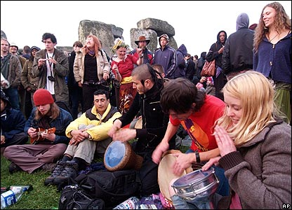 Drumming is a tradition of the event