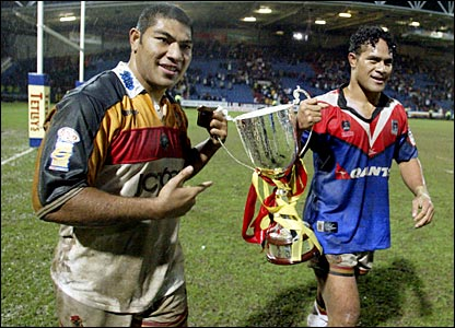 Vainikolo won the first of many trophies in Bradford colours on his debut, a 41-26 win over the Newcastle Knights in the World Club Challenge