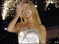 Chantelle Houghton in 2006