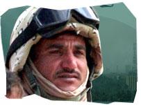 Arab-American soldier
