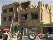Mud homes in the Kabul area