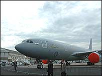 Airbus tanker plane