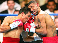 Jose Luis Castillo (left) and Diego Corrales