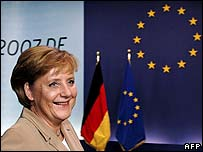 German Chancellor and current EU President Angela Merkel