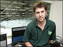 Hawk-Eye managing director Paul Hawkins